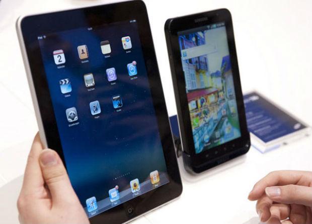 Samsung gana a Apple en el mercado de las tabletas