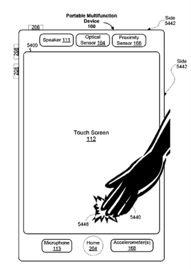 problemas de patentes de las pantallas táctiles de Apple