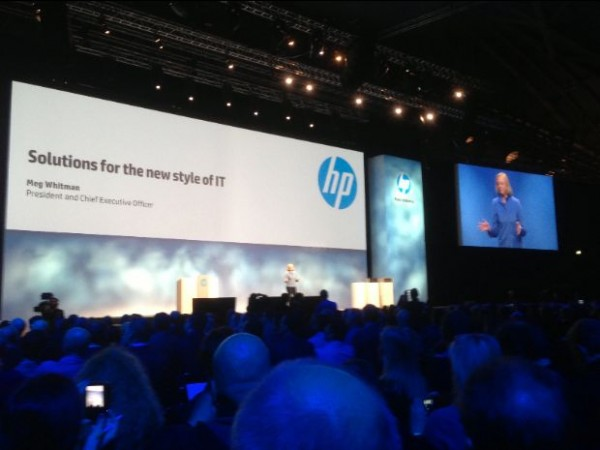 Meg Whitman, CEO de HP en Discover 2012
