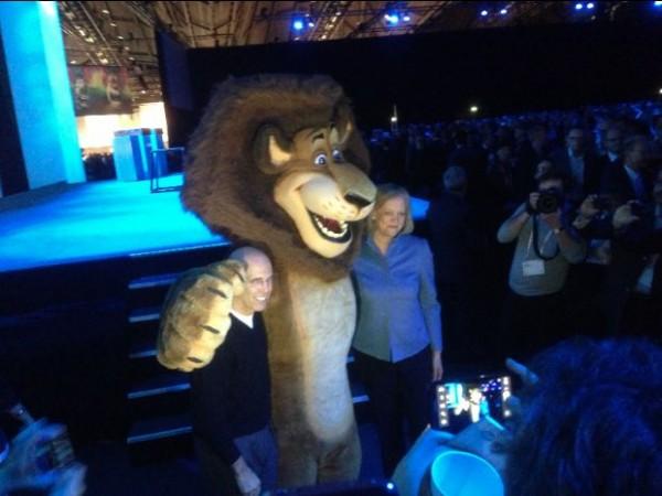 Meg Whitman, CEO de HP, en el Discover 2012