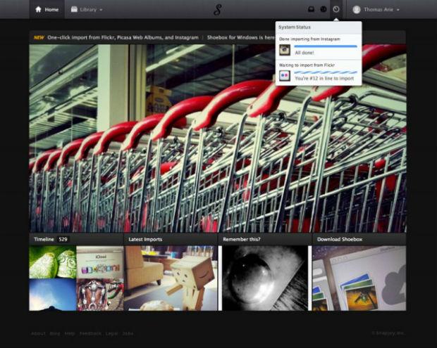 Dropbox adquiere el servicio de fotos Snapjoy