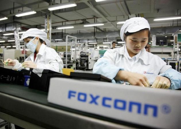 Foxconn mejora sus instalaciones