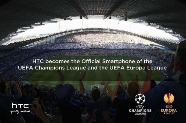 HTC será el proveedor oficial de smartphones de la UEFA Champions League
