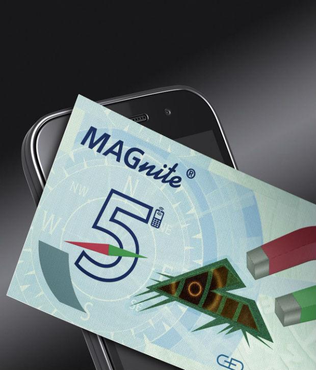 Comprueba la autenticidad de los billetes con el teléfono móvil