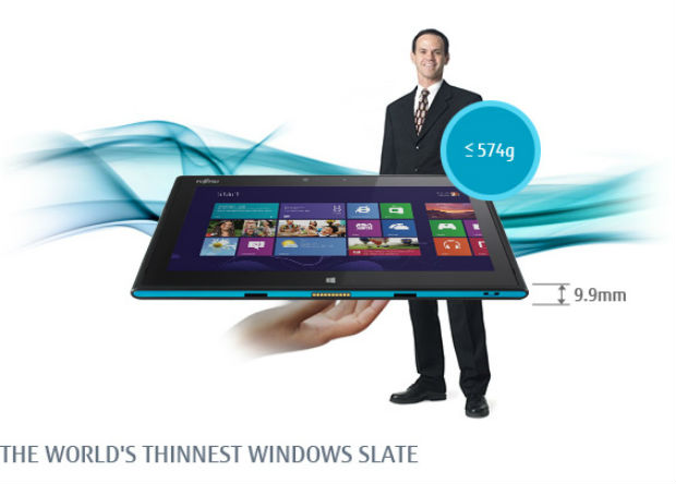 Fujitsu Stylistic QH582, un tablet resistente al agua