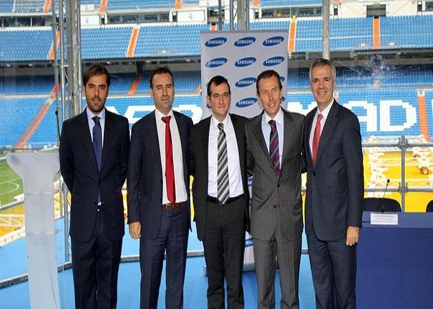 Samsung anuncia un nuevo acuerdo con el Real Madrid
