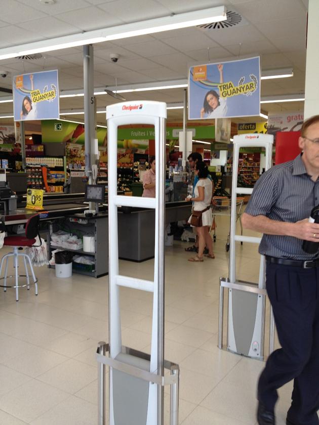 Consum protege sus supermercados con la última tecnología de Checkpoint Systems