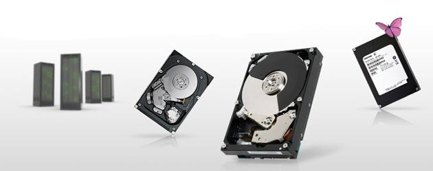 Toshiba HDD SlimFITT de 10.500 RPM para empresas