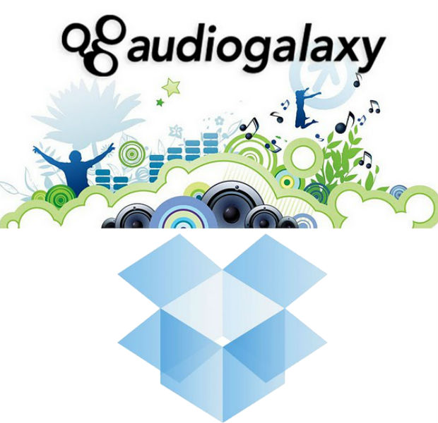 dropbox compra audiogalaxy