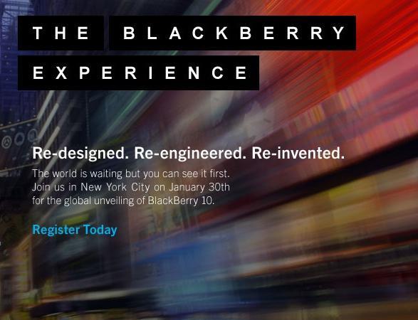 RIM ya ha comenzado a probar BlackBerry con clientes gubernamentales y corporativos