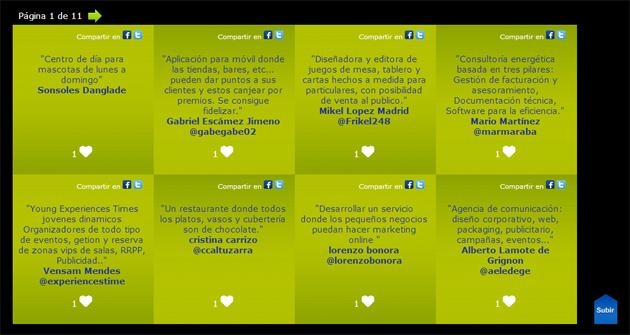 """El Grupo BBVA premia la mejor idea en """"Tu Negocio en un Tweet"""""""
