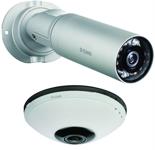 D-Link presenta sus primeras cámaras de Videovigilancia IP con soluciones cloud