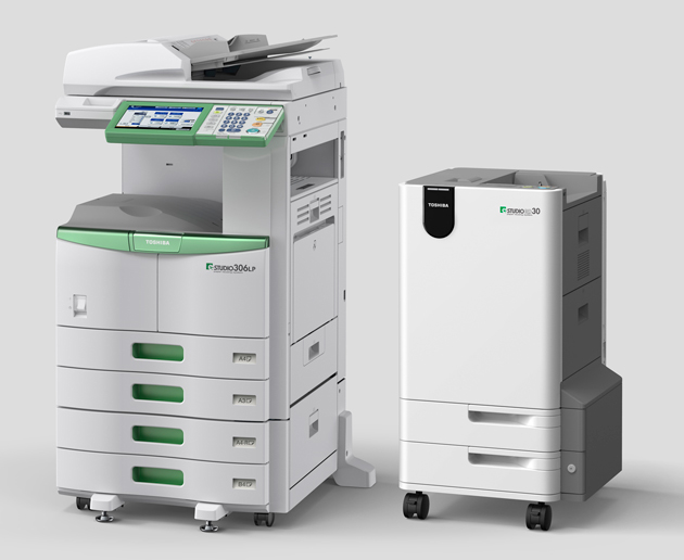 """Toshiba lanza el primer multifuncional """"verde"""" que borra el papel impreso para reutilizarlo"""