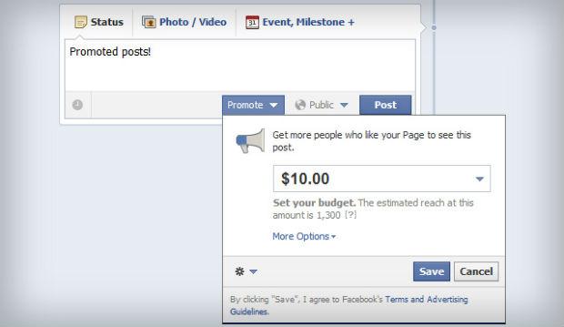 Las empresas han pagado más de 2 millones de posts patrocinados en Facebook