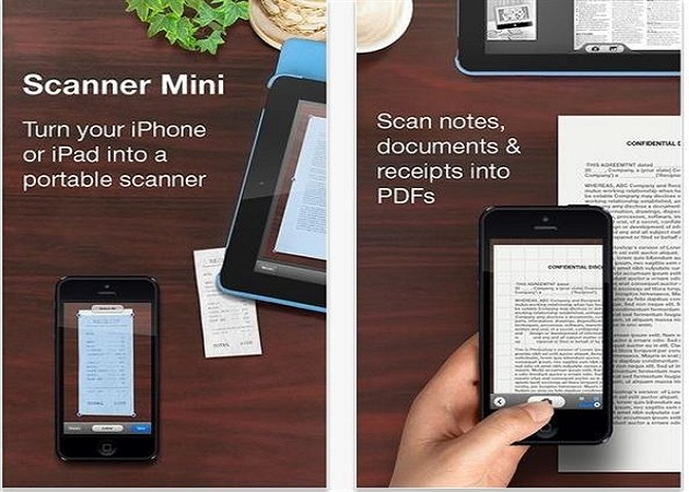 Scanner Mini te permite escanear documentos con tu móvil de manera sencilla