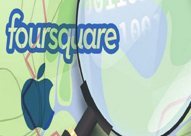 Apple podría aliarse con Foursquare