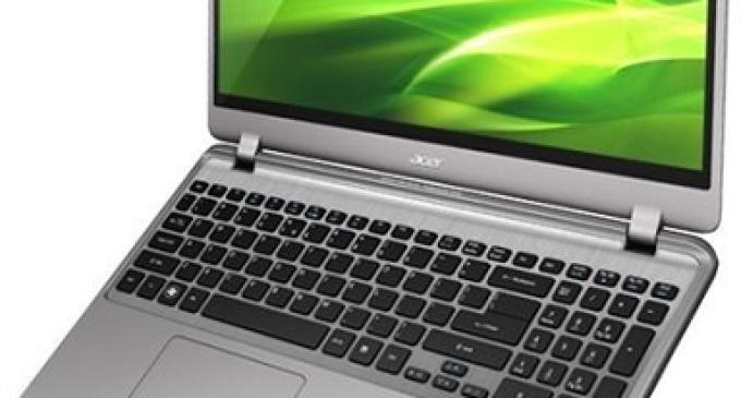 Windows 8 en un ultrabook gracias al Aspire M3 de Acer