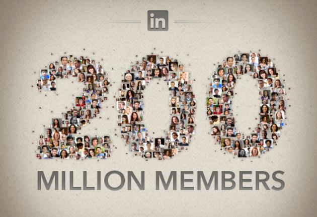 LinkedIn alcanza los 200 millones de usuarios