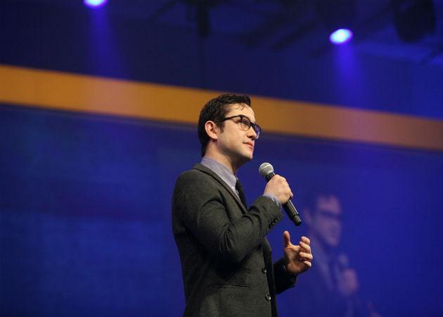 El actor Joseph Gordon-Levitt muestra su faceta de emprendedor en el IBM CONNECT 2013
