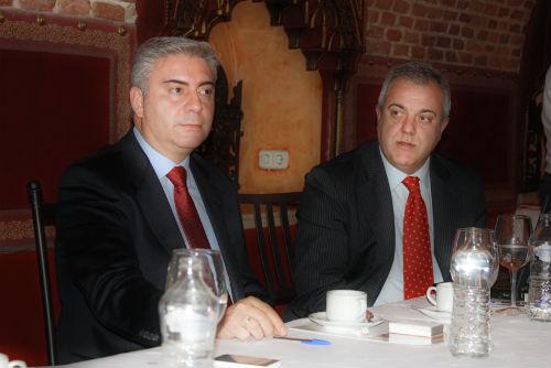 Juan Luis Brizuela y Enric Subirana