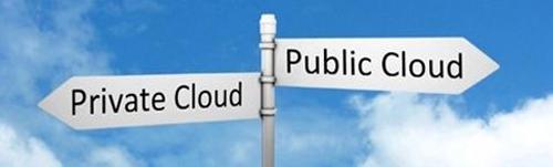 Cloud pública y privada