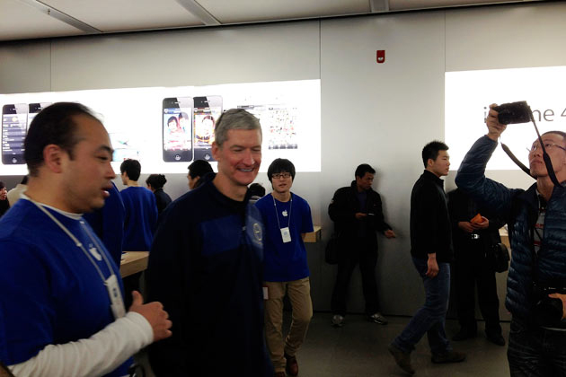Tim Cook en China