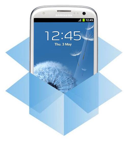 Dropbox en Samsung