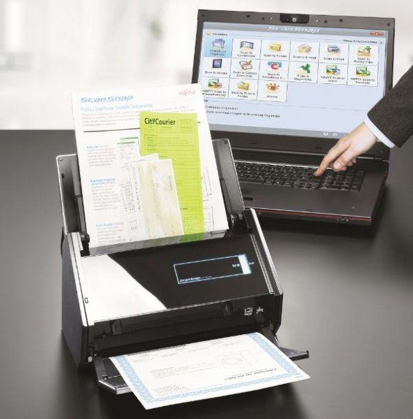 Fujitsu ScanSnap iX500, un escáner que no necesita del PC para trabajar