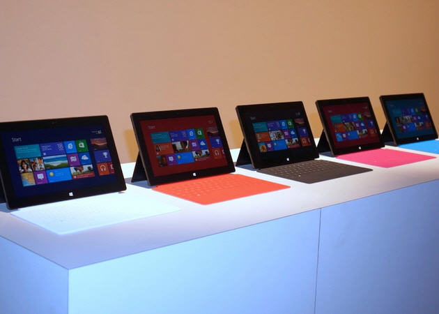 Microsoft Surface Pro podría estar lista a finales de enero