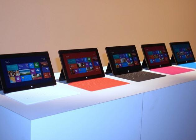 Microsoft ya ha vendido más de un millón de unidades de Surface