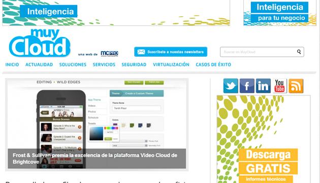 muycloud Estrenamos MuyCloud.com, la web especializada en la nube