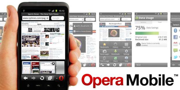 Opera para teléfonos móviles experimenta un crecimiento récord en diciembre