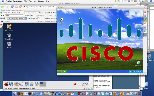 Cisco invierte Parallels