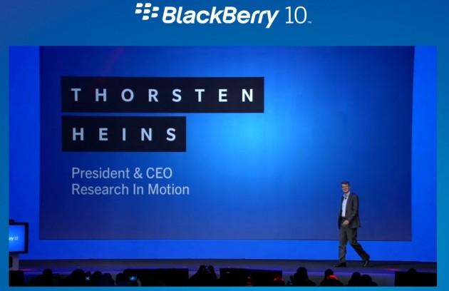 Presentación Blackberry 10