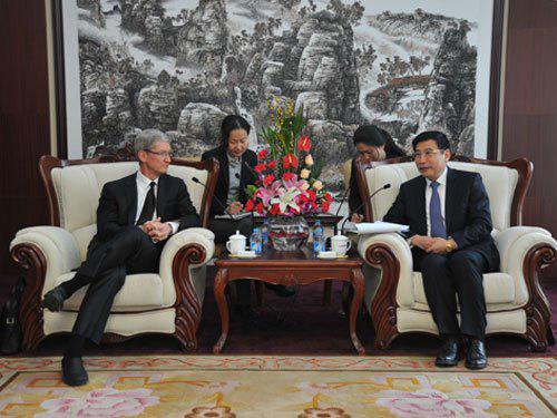 Cook: China se convertirá en el mayor mercado de Apple