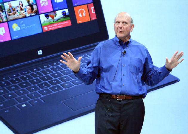 """Steve Ballmer asegura que Surface es un """"negocio real"""""""