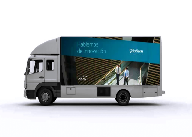 Arranca el Innovation Bus de Cisco y Telefónica