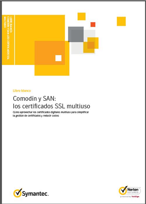 Comodín y SAN: los certificados SSL multiuso