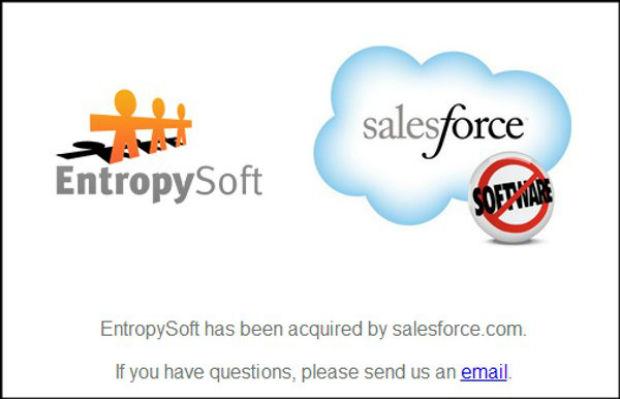 Salesforce compra EntropySoft