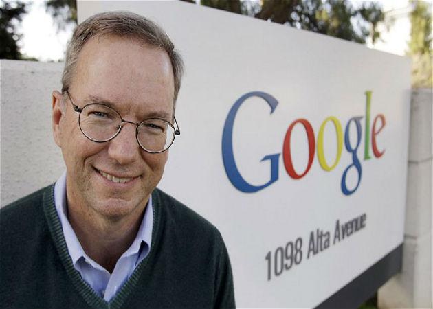 Eric Schmidt vende una participación de Google valorada en 2.500 millones de dólares