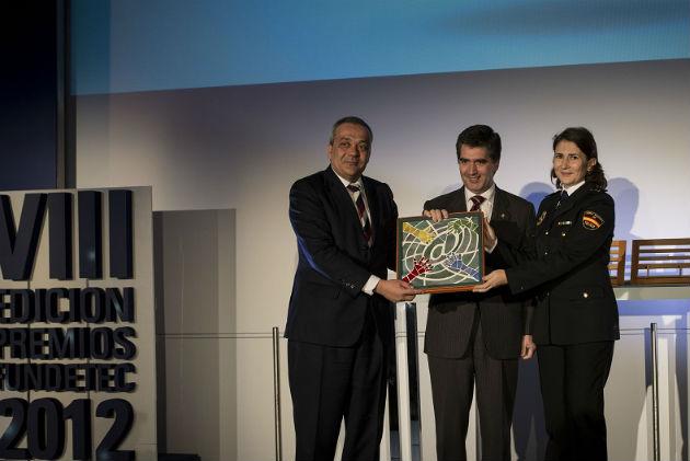 La Dirección General de la Policía gana los Premios Fundetec 2012 por su apuesta por las redes sociales