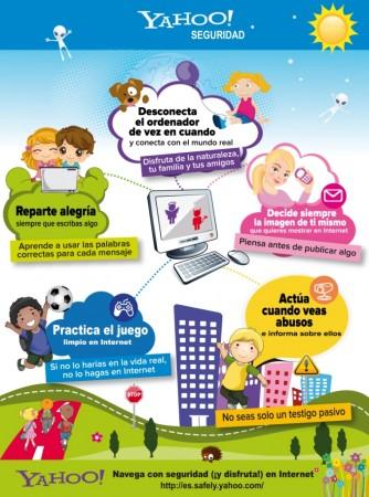 Yahoo! acude a los colegios para concienciar sobre el uso responsable de Internet