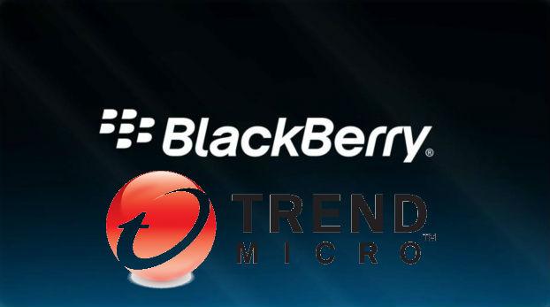 BlackBerry elige a Trend Micro para proteger a clientes contra el malware y problemas de privacidad