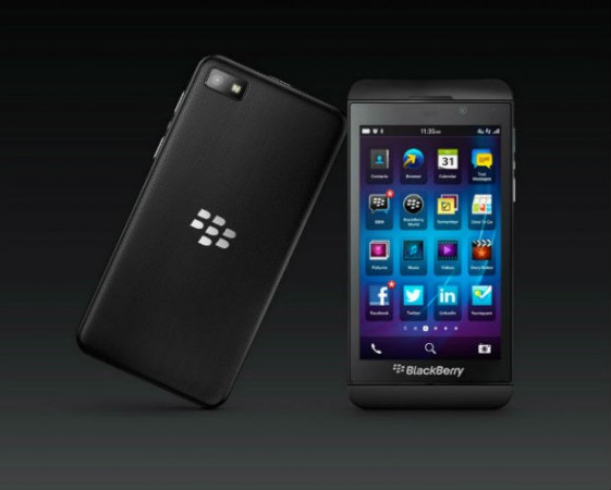BlackBerry 10 bate récord