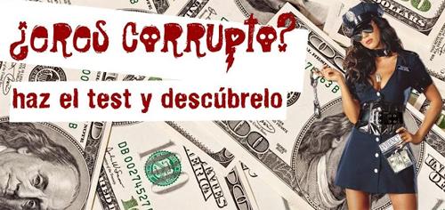 ¿Eres corrupto?