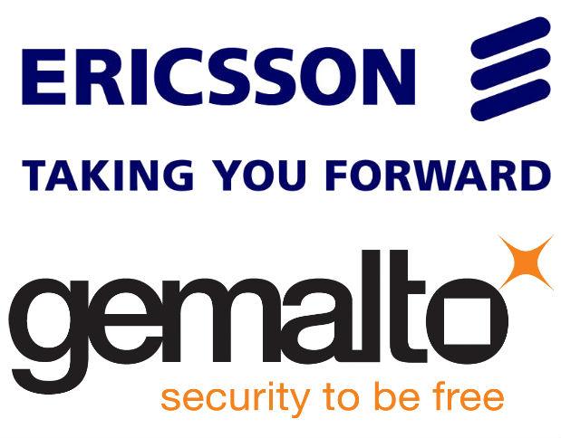 Ericsson y Gemalto se unen para ofrecer una solución conjunta de M2M basada en tarjetas integradas.