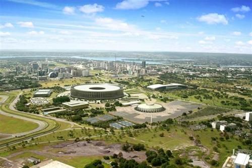 Estadio Nacional de Brasilia: arquitectura ecológica gracias a la tecnología