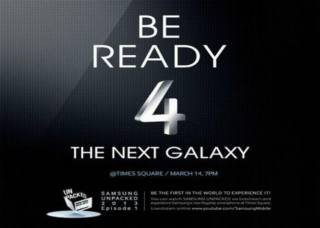 Samsung retrasmitirá en Times Square el evento del Galaxy S IV en streaming