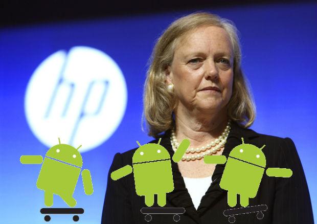 HP comercializará dispositivos móviles con Android