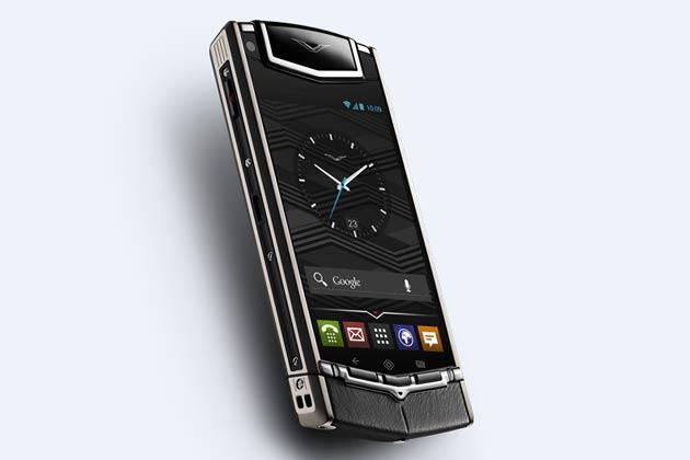 El móvil de lujo Vertu funciona con Android